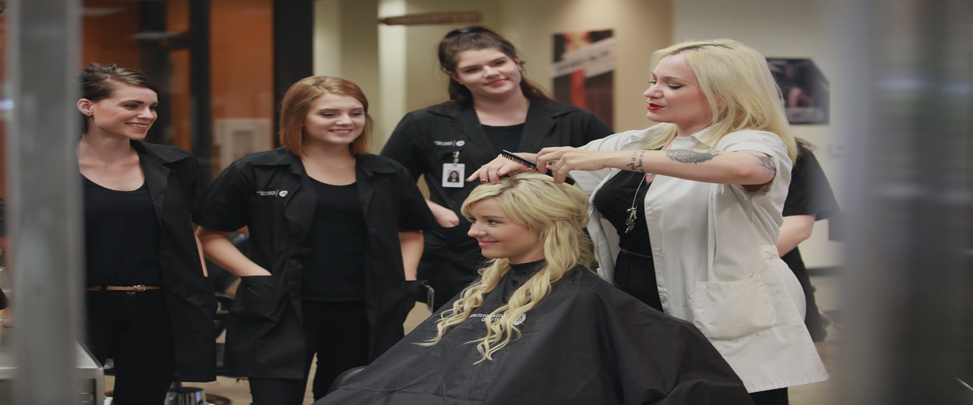 Ask us for the most practical hair and beauty courses…